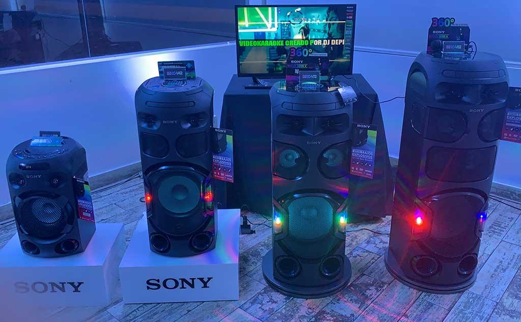 Nuevos Sony Jet Bass Booster de la Serie V