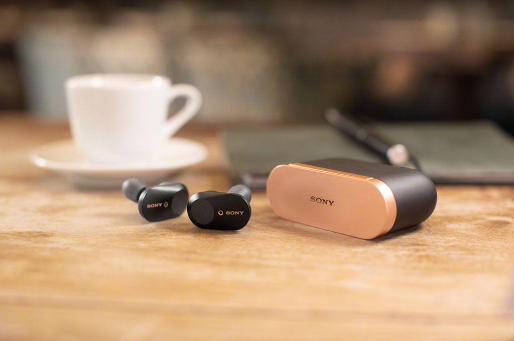 Nuevos auriculares inalámbricos WF-1000XM3 de Sony