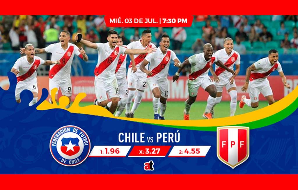 Perú VS Chile, un triunfo peruano pagará más de 4 veces en casas de apuestas