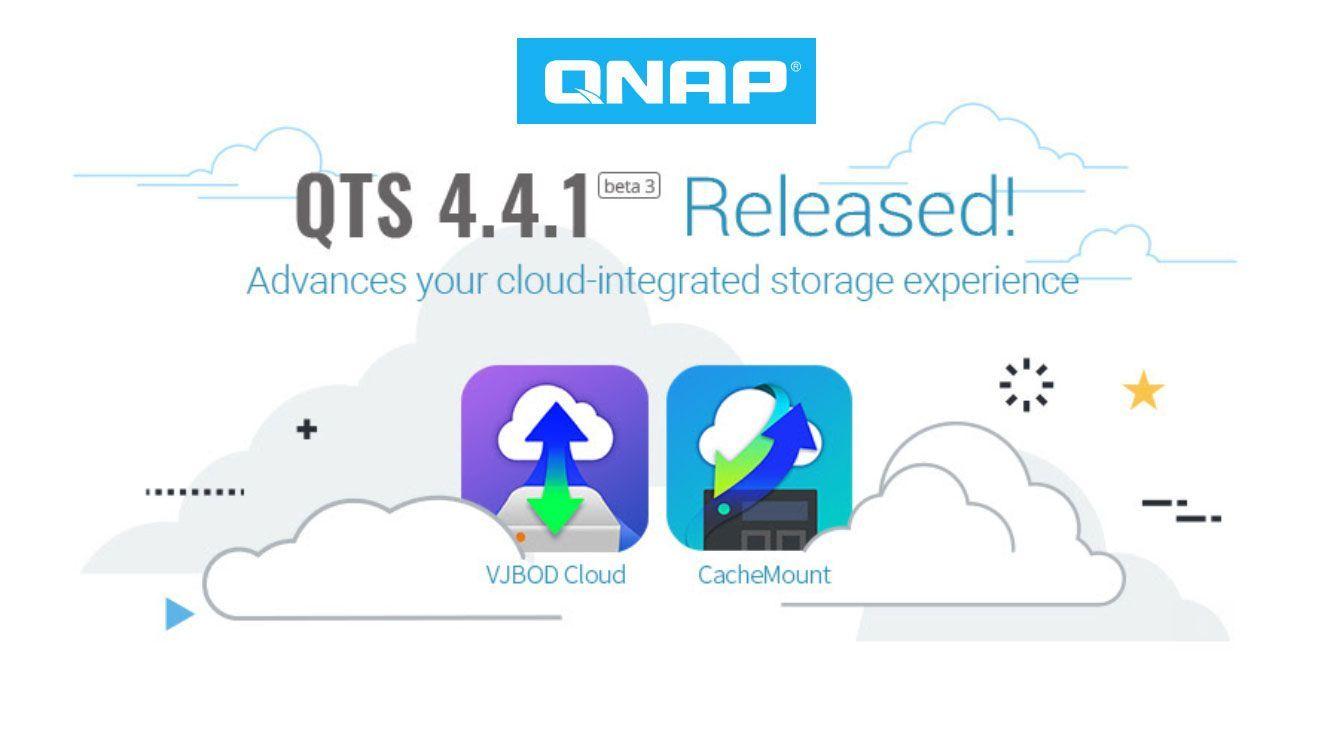 QNAP lanza la versión beta 3 de QTS 4.4.1 de QNA