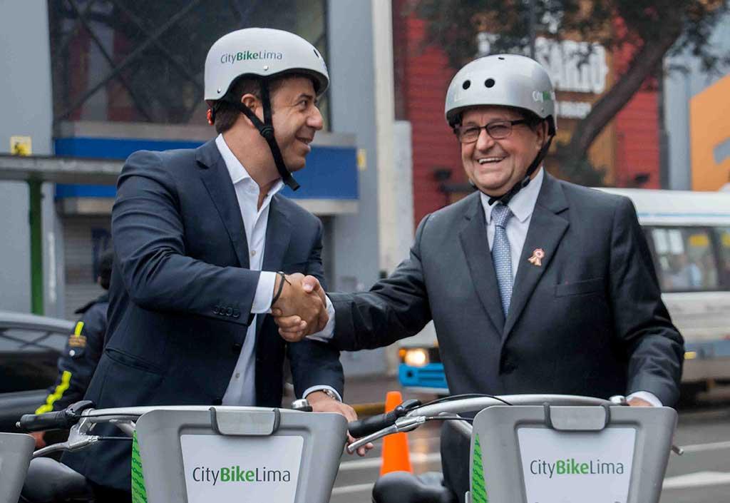Se inauguró CityBike primer servicio de Bicicletas Públicas del Perú