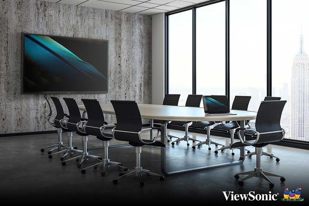ViewSonic Presenta la Nueva Serie ViewBoard IFP70 de Pantallas Interactivas Capacitivas Proyectadas