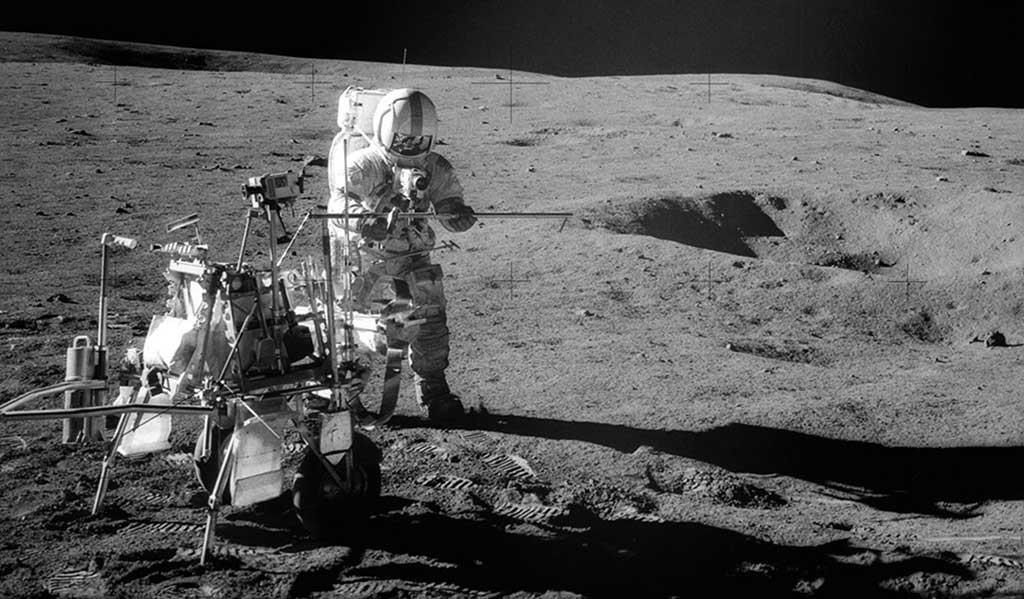 50 años después de ir a la Luna Goodyear volvió al espacio
