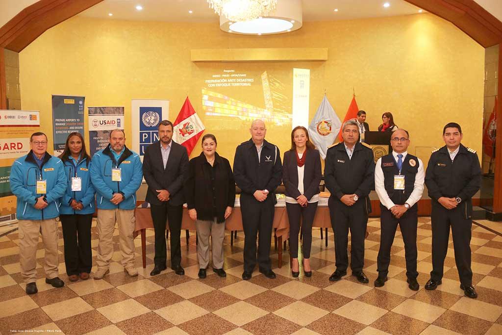 DHL y el PNUD mejoran nivel de preparación frente a los desastres en aeropuertos del Perú