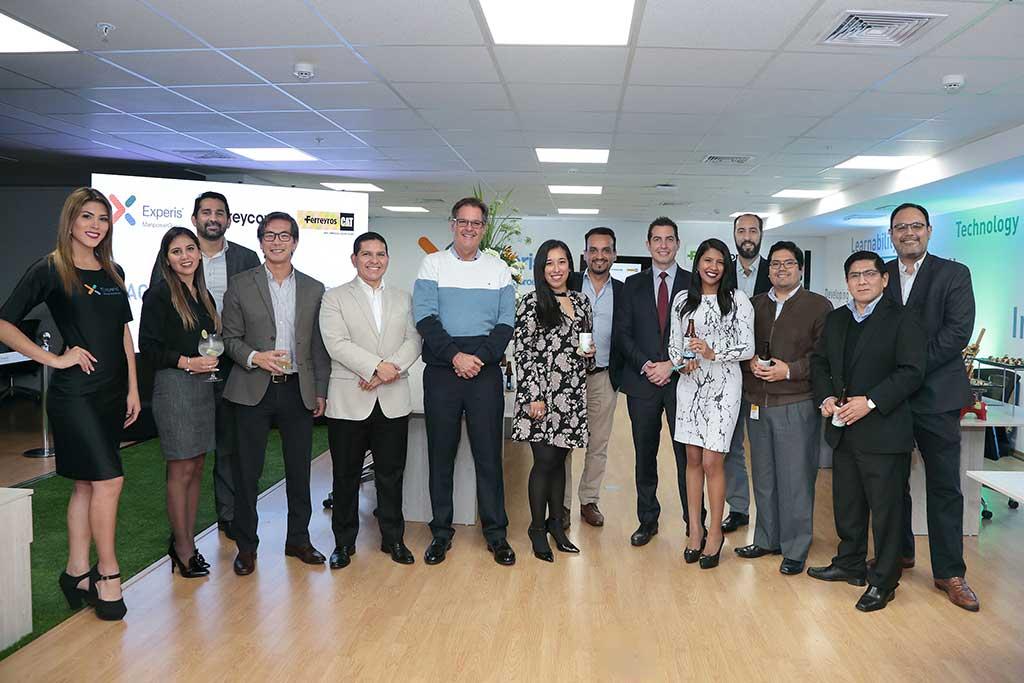 Experis y Ferreyros inauguran Agile Software Factory