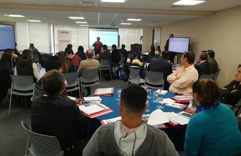 Innóvate Perú realizó capacitación para representantes de 23 CITE