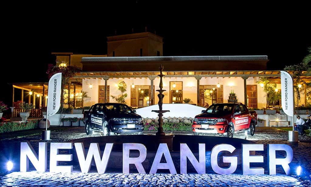 New Ford Ranger llegó al Perú