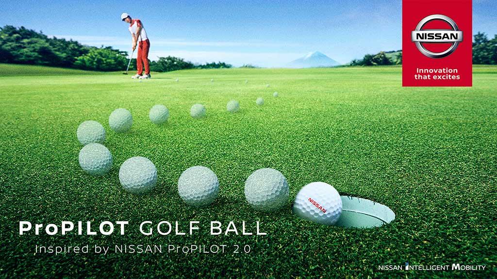 Nueva ProPILOT golf ball de Nissan