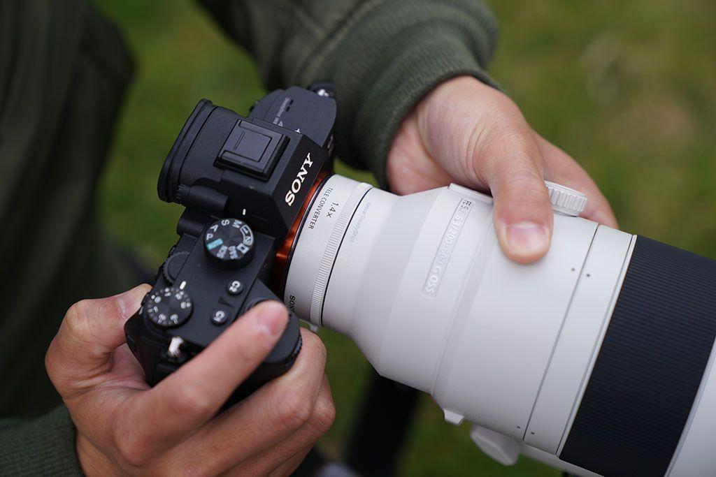Sony presenta nuevo súper teleobjetivo F4 G Master