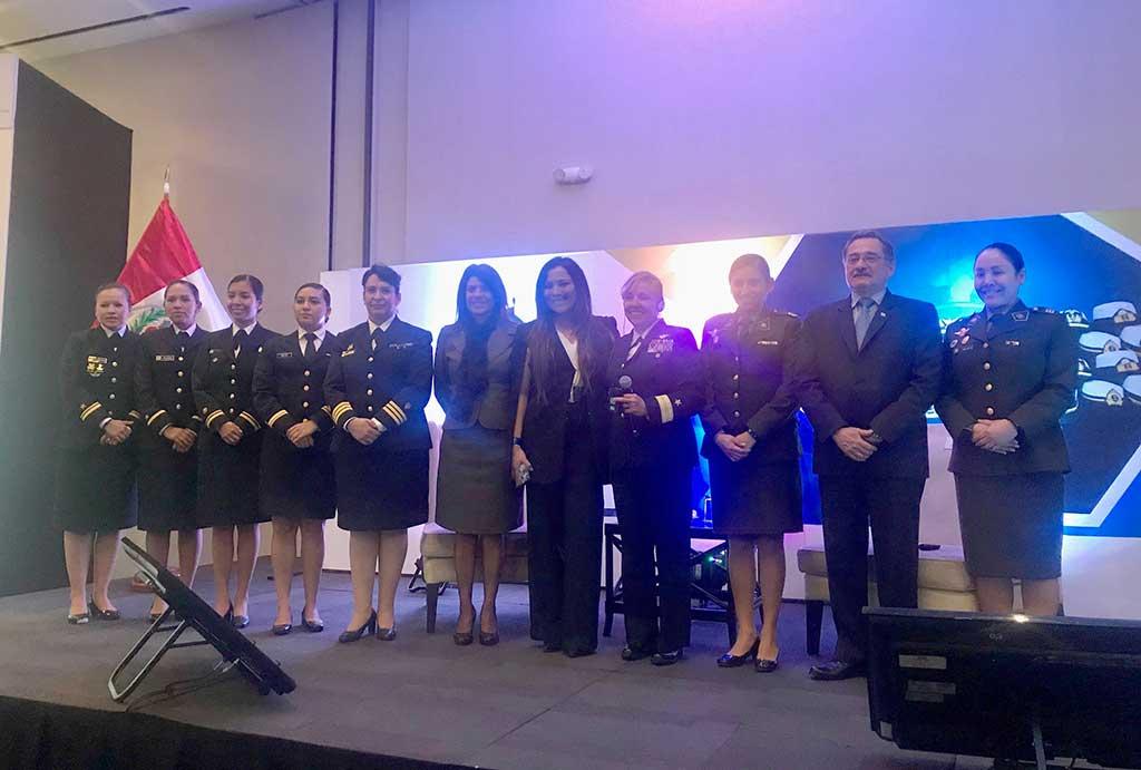 Telefónica y la Marina de Guerra se unen para impulsar y revalorar el rol de la mujer