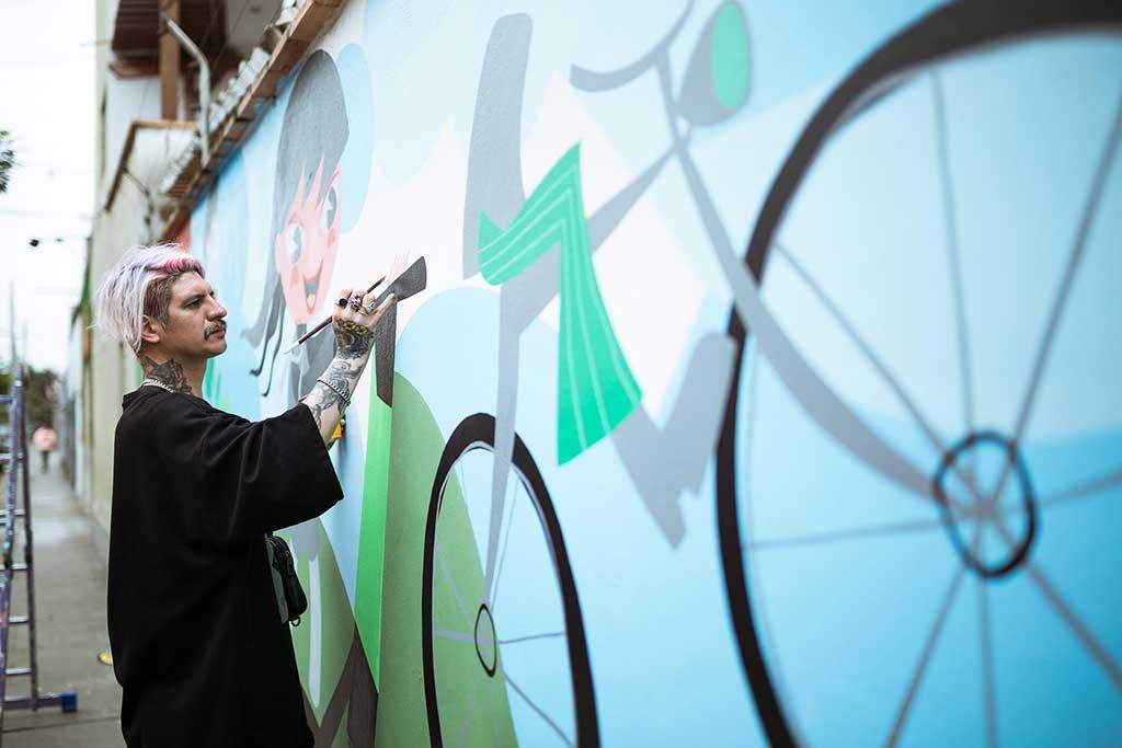Un mural para el medioambiente