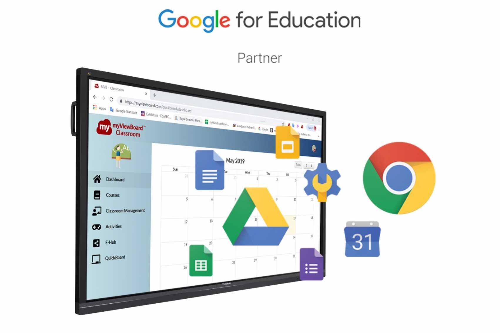 ViewSonic se Convierte en Socio de Google for Education