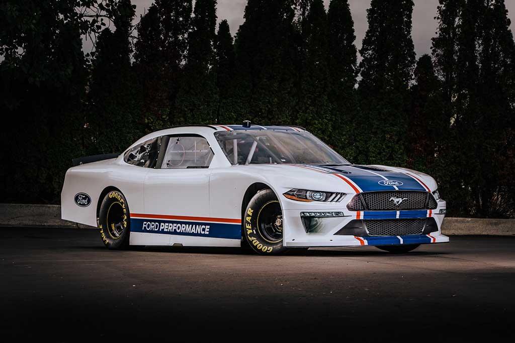 Ford revela nuevo Mustang NASCAR Xfinity Series 2020