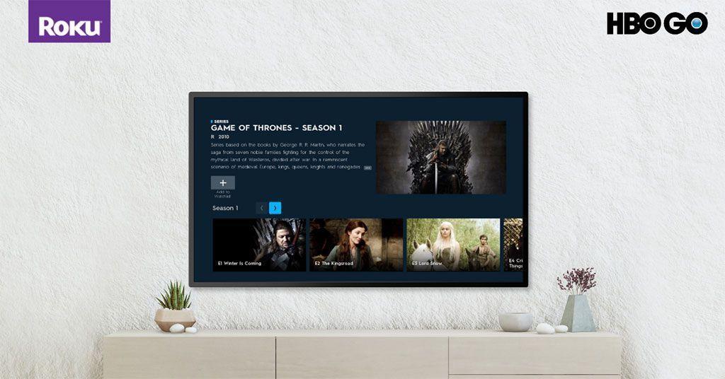 HBO GO ya está disponible en la plataforma Roku en Perú