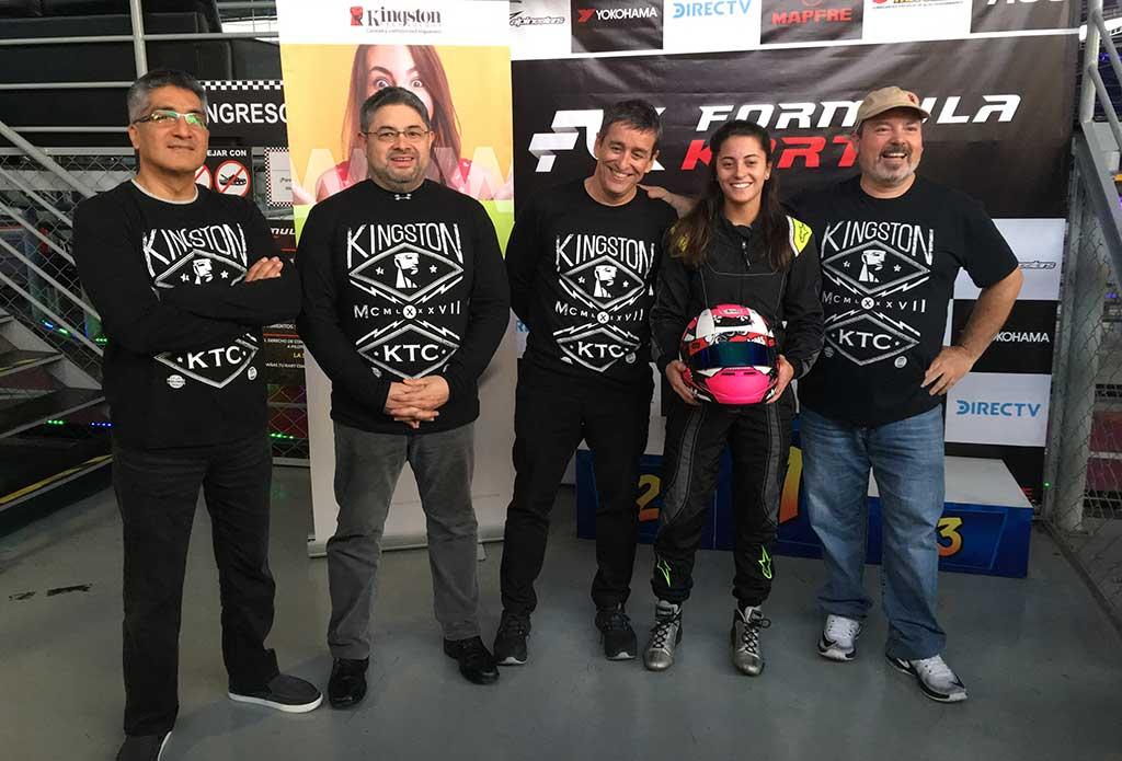 """KINGSTON TECHNOLOGY presentó nuevo portafolio SSD en el primer """"Kingston Karts Racing"""""""