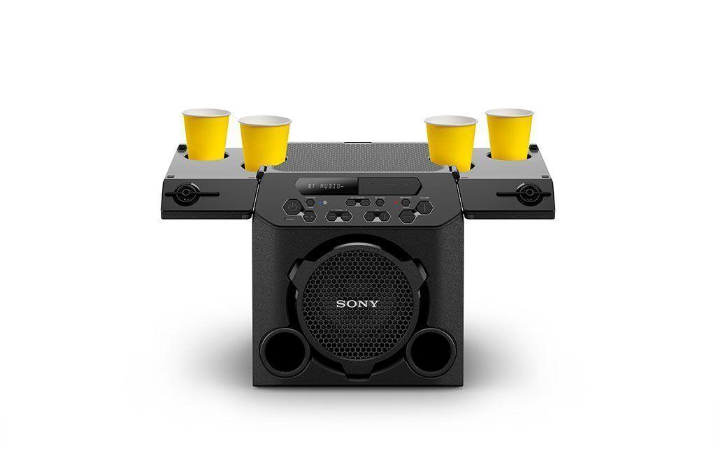 Nueva bocina GTK-PG10 inalámbrica de Sony para exteriores
