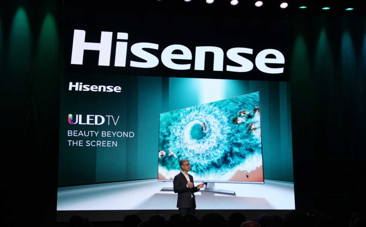 Nuevos Televisores Hisense 8K ULED XD y Sonic Laser