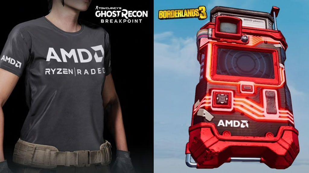 AMD aumenta el valor para los jugadores con Radeon RX y Ryzen