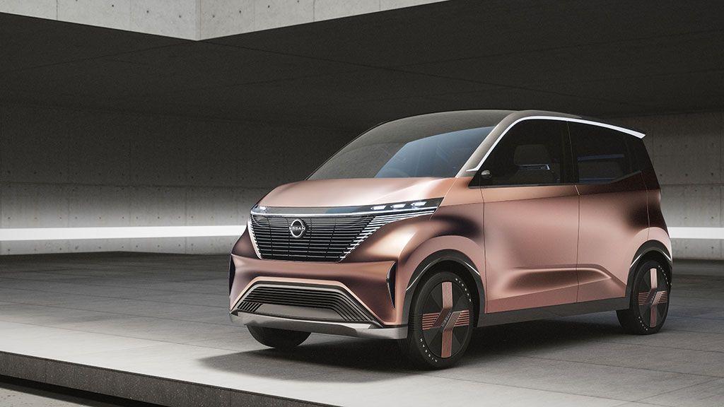 Nissan presenta el prototipo eléctrico IMk