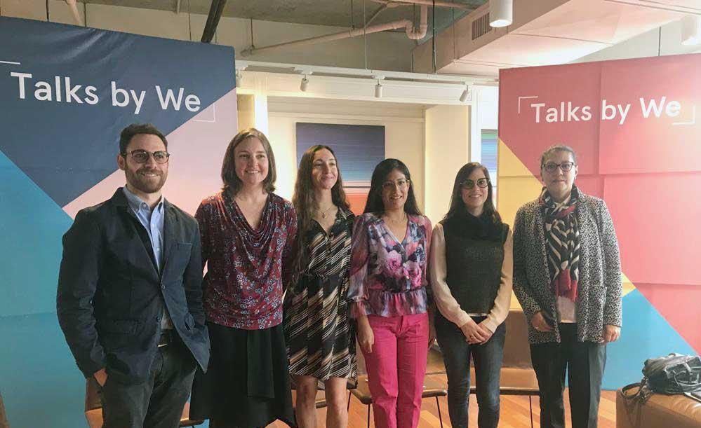 WeWork llevó a cabo el evento Talks by We