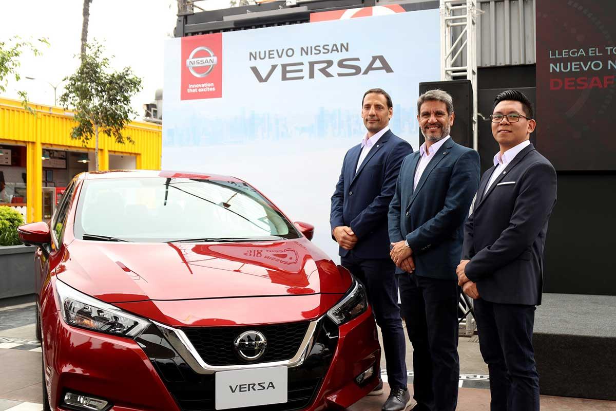 El nuevo Nissan Versa debuta en Perú