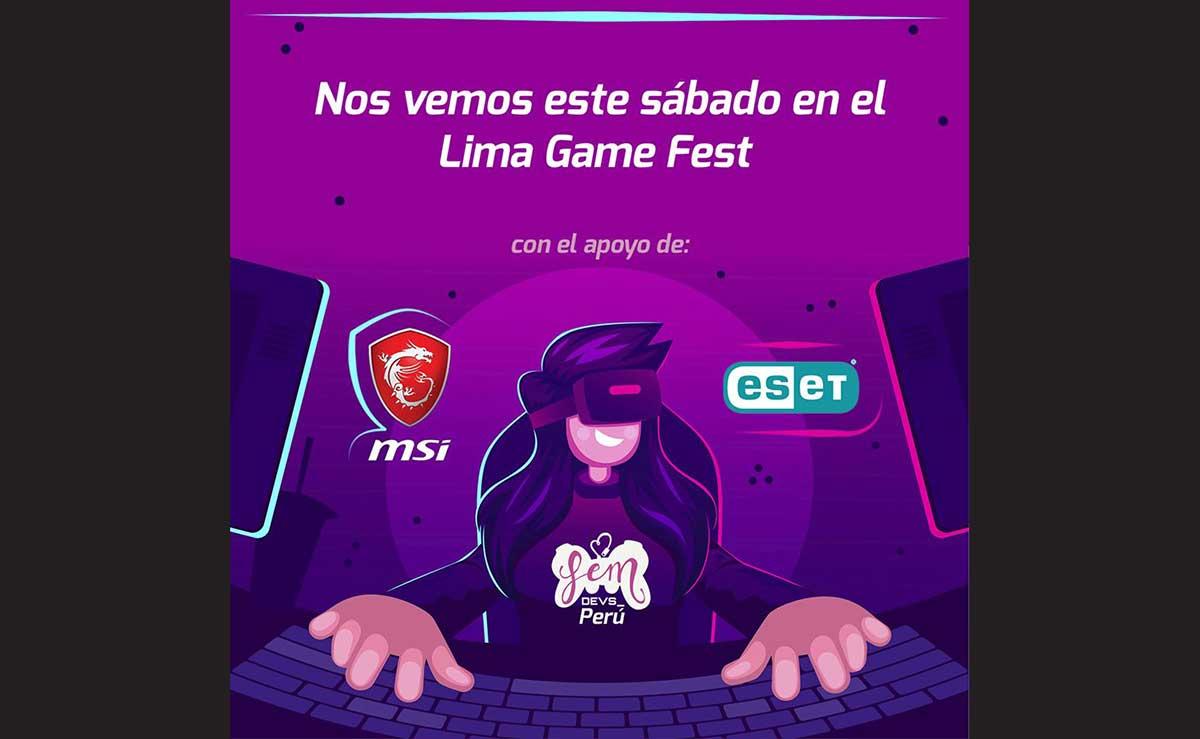 Fem Devs Perú estará en el Lima Game Fest