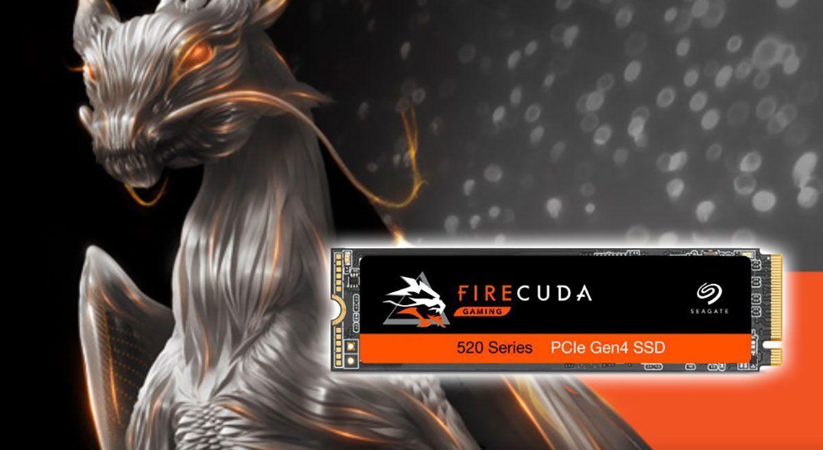 Gana la competencia con el almacenamiento para juegos Firecuda de Seagate