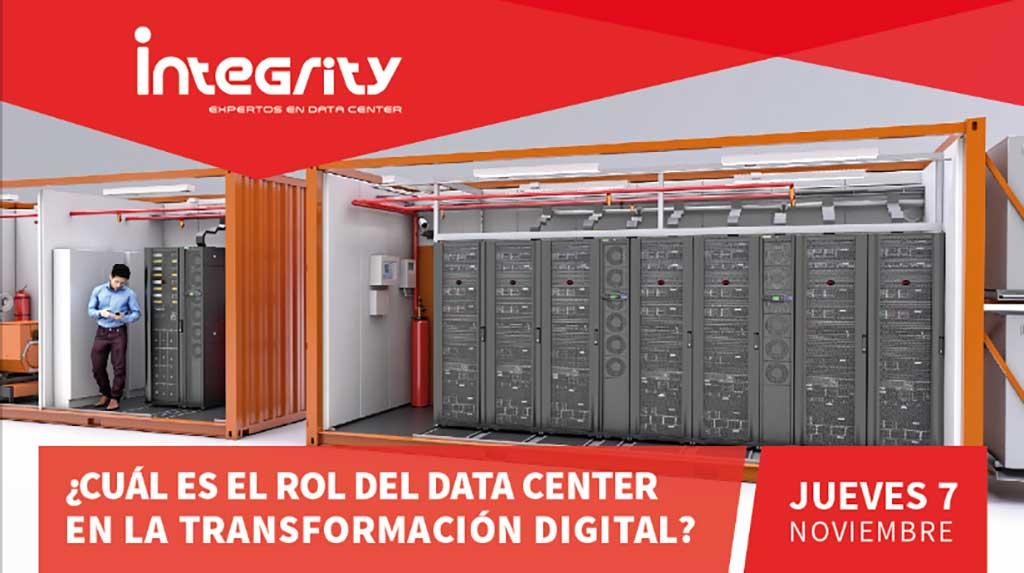 Integrity Perú anuncia evento acerca del rol del Datacenter en la Transformación Digital