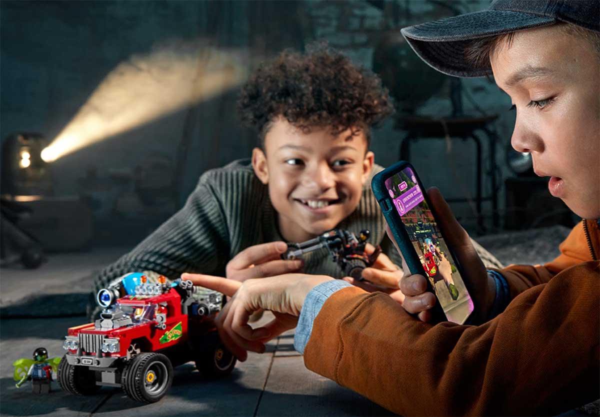 LEGO Hidden Side experimenta la construcción con realidad aumentada