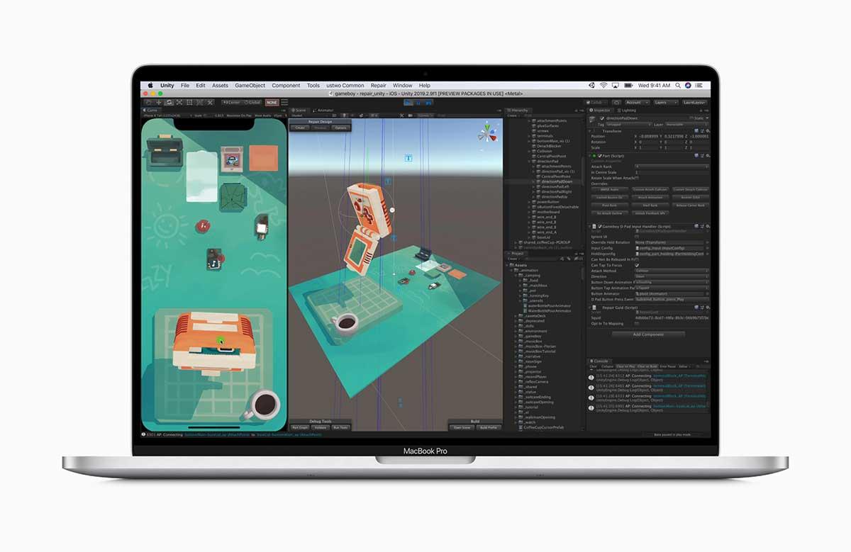 Nueva MacBook Pro de 16 pulgadas incorpora GPUs móviles Radeon Pro 5000M de AMD