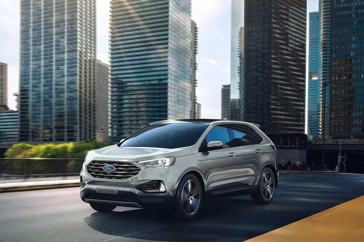 New Ford Edge alcanza reconocimiento de seguridad del IIHS