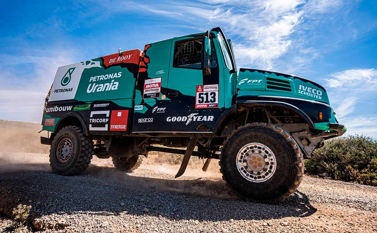 Goodyear arranca entre los primeros en el Rally Dakar