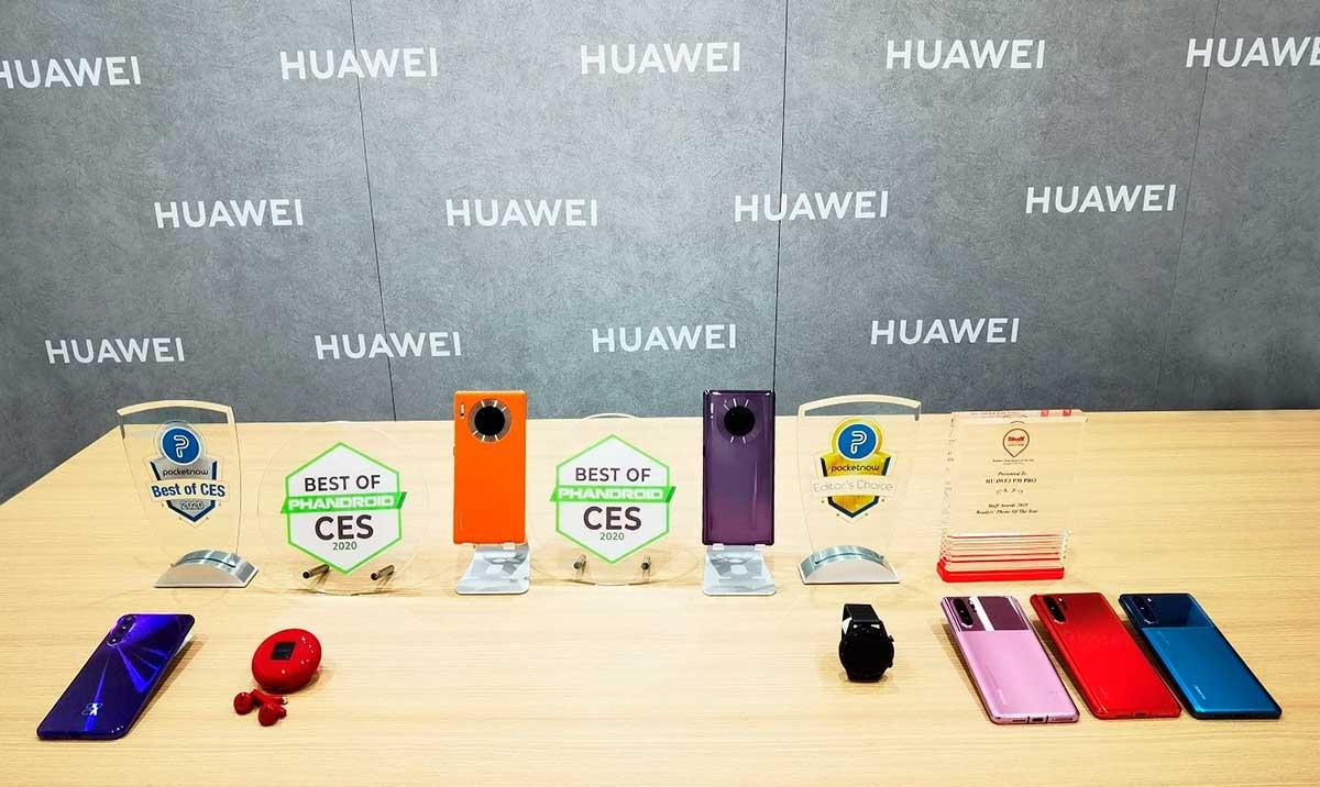 Huawei obtuvo los premios Best of CES y Editor's Choice en CES 2020