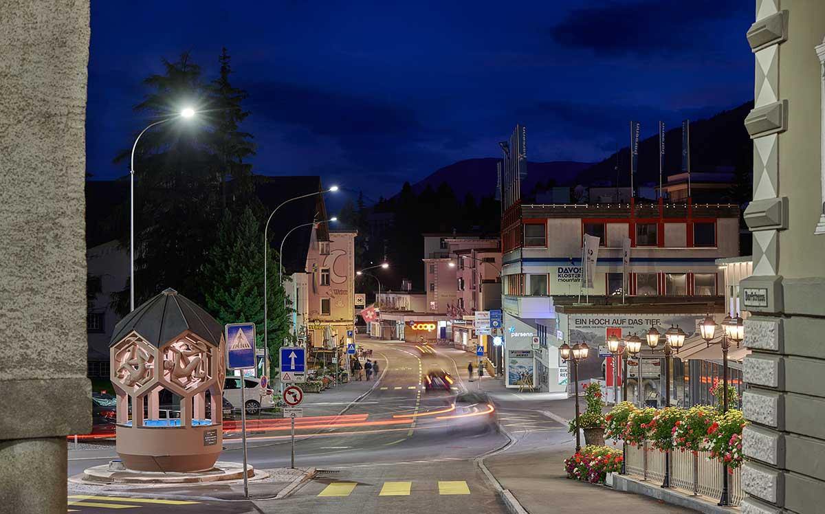 Signify apoya a la ciudad de Davos a cumplir con sus objetivos en sostenibilidad