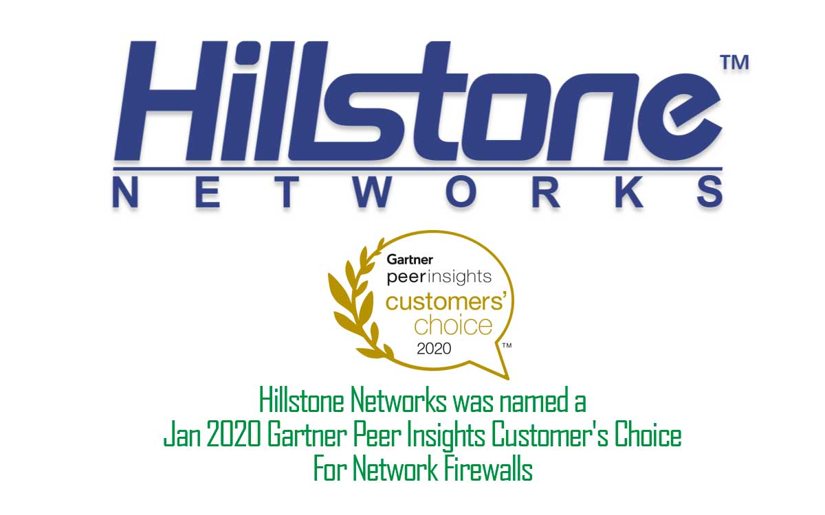 Hillstone recibe importante reconocimiento de Gartner Peer Insights Customers' Choice