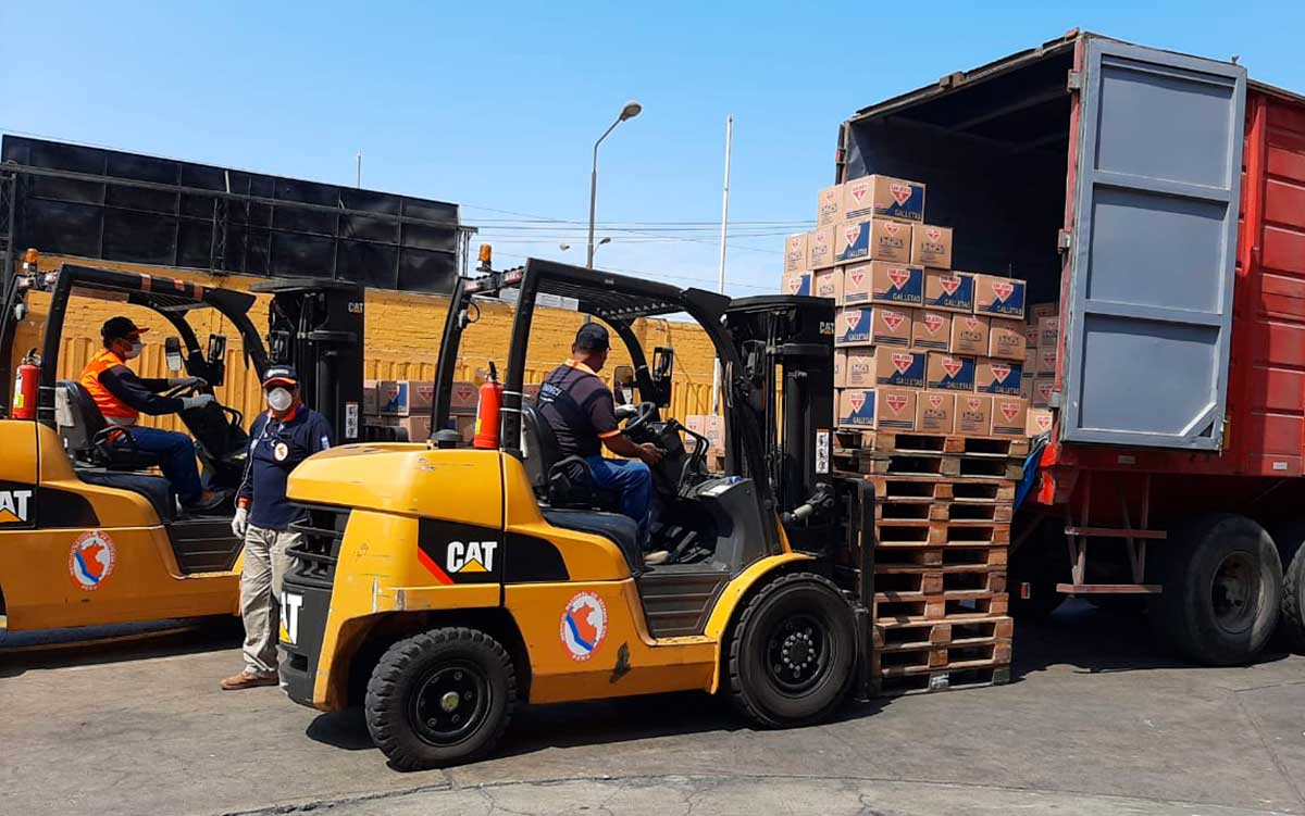 Empresas peruanas se unen para enviar 450 toneladas de ayuda humanitaria