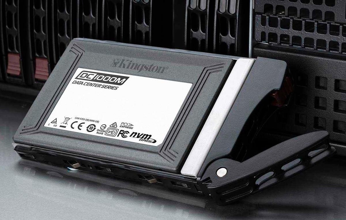 Kingston lanza unidad SSD DC1000M NVMe PCIe U.2 para centros de datos