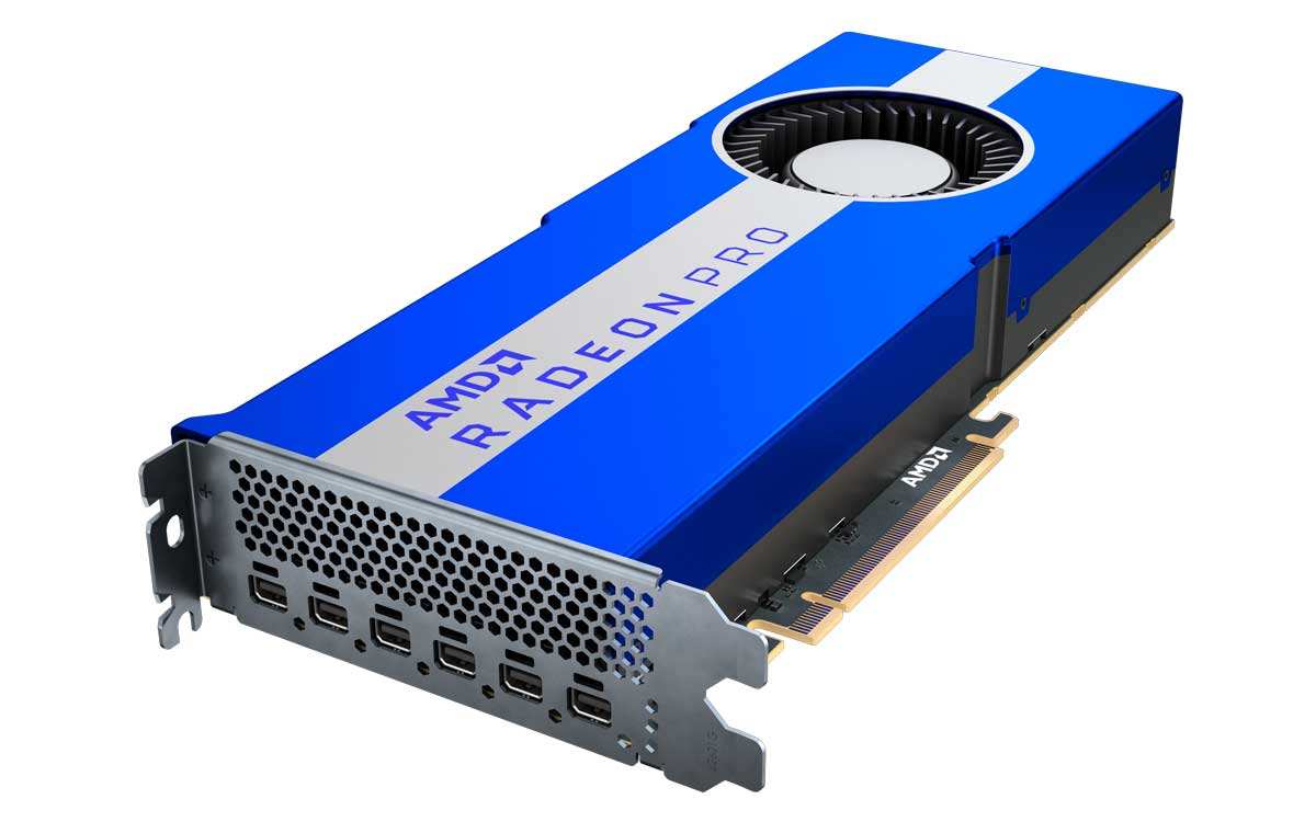 AMD expande su portafolio profesional con la tarjeta gráfica AMD Radeon Pro VII