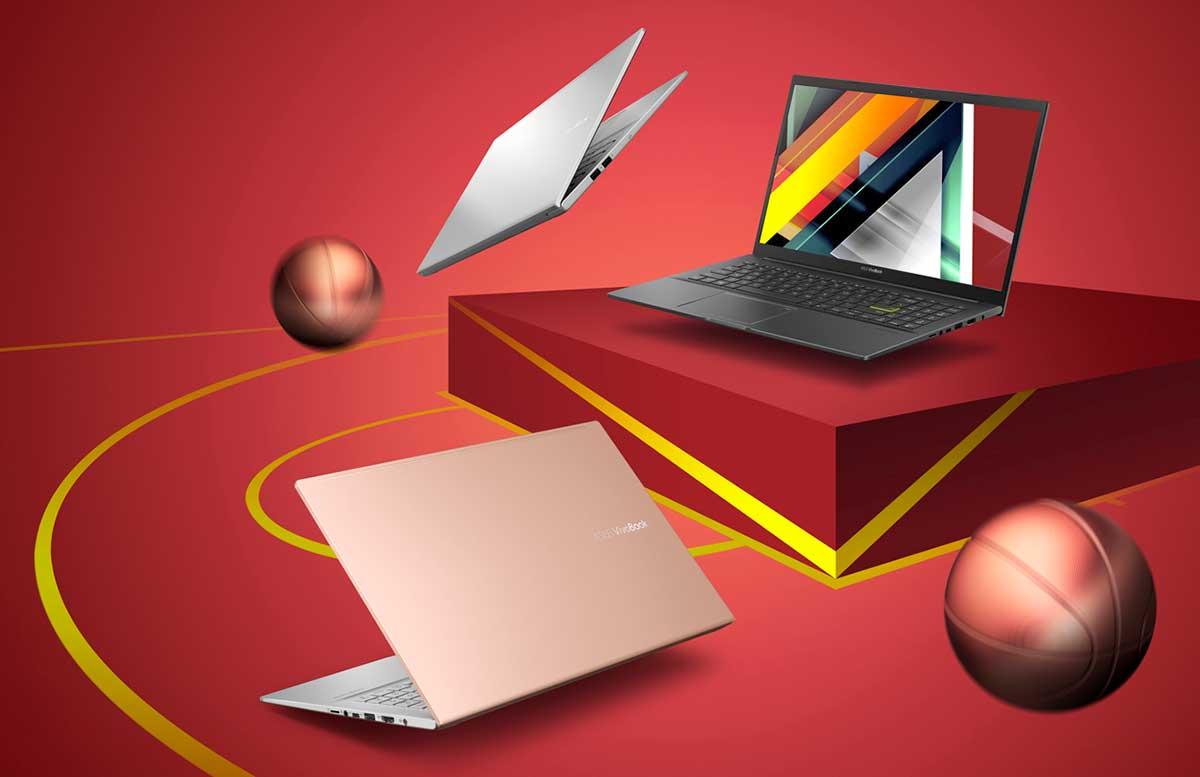 ASUS anuncia nuevas VivoBook 14 y 15 con procesadores AMD