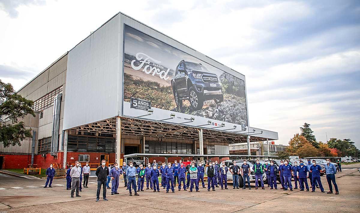 Ford produjo y donó 20 mil protectores faciales en Argentina