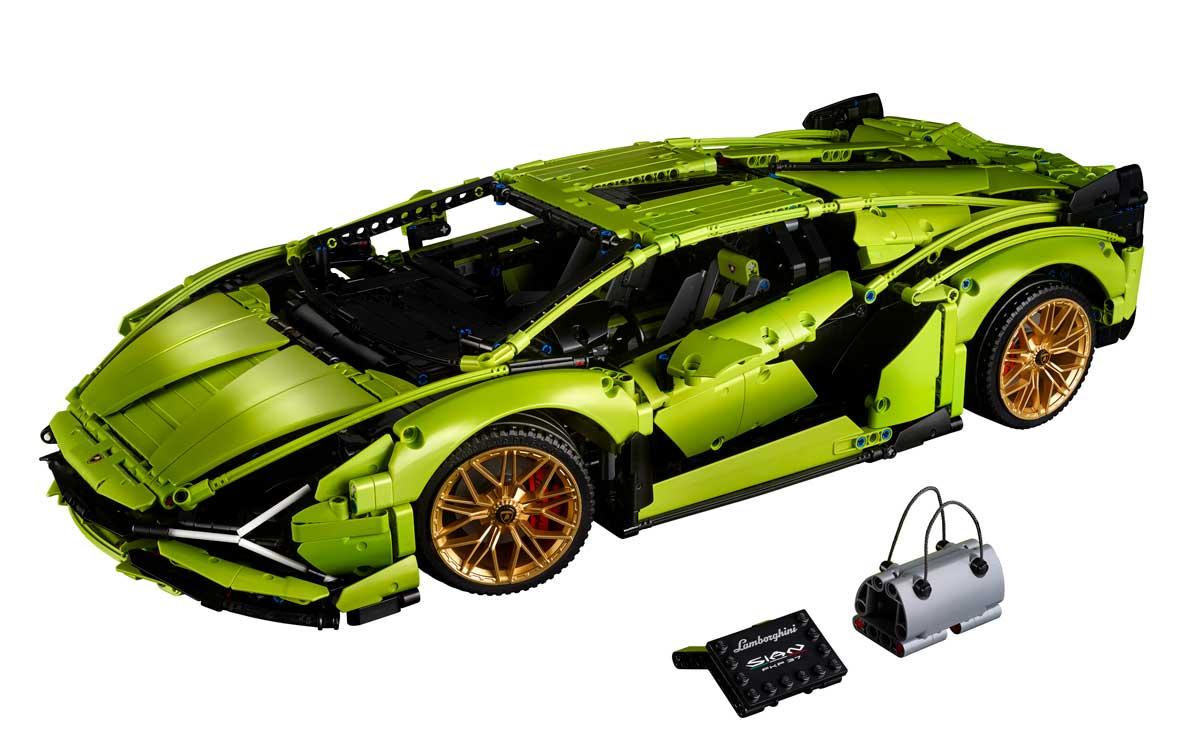 LEGO devela nuevo Lamborghini Sián FKP 37 de LEGO Technic