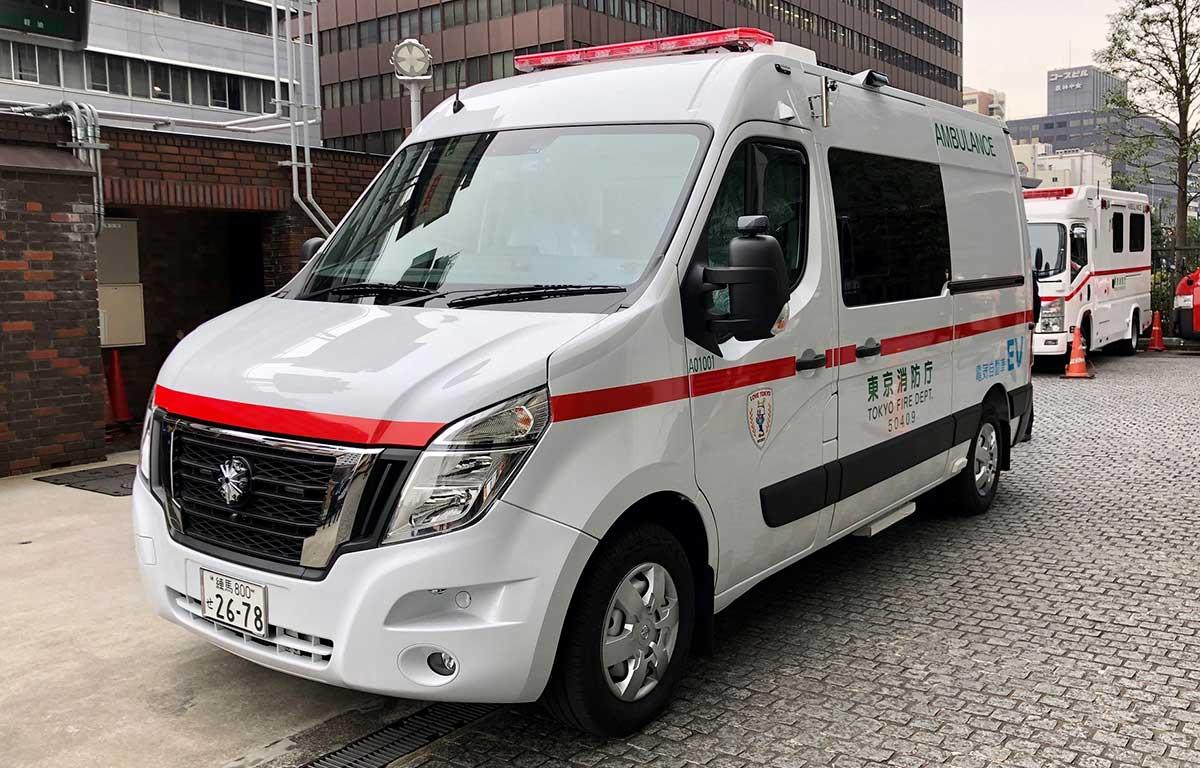 Nueva Ambulancia Cero Emisiones de Nissan