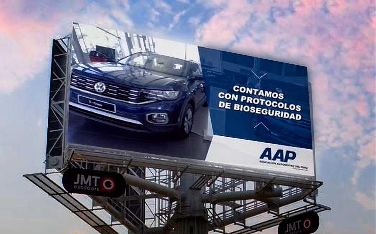 Asociación Automotriz del Perú y JMT Outdoors lanzan campaña