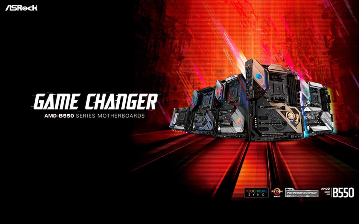 ASRocklanza nuevos motherboards y completa la serie B550 de AMD