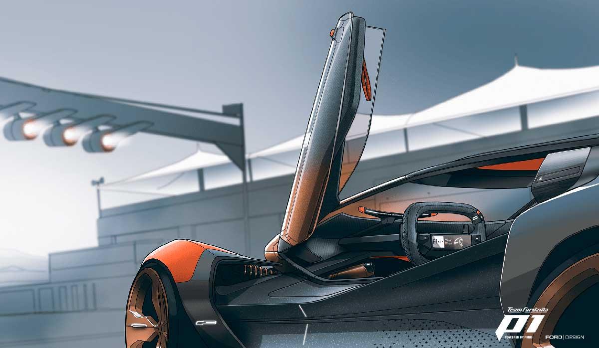 Ford desarrolla vehículos mediante diseño virtual