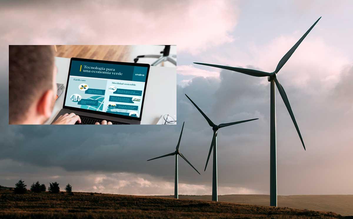 Indra apuesta por la tecnología como motor de la economía verde