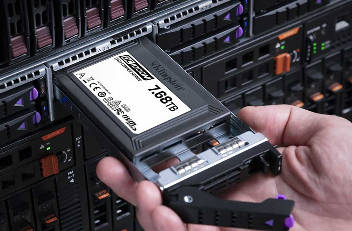 Kingston incrementa capacidades en unidades SSD de alto rendimiento para centro de datos