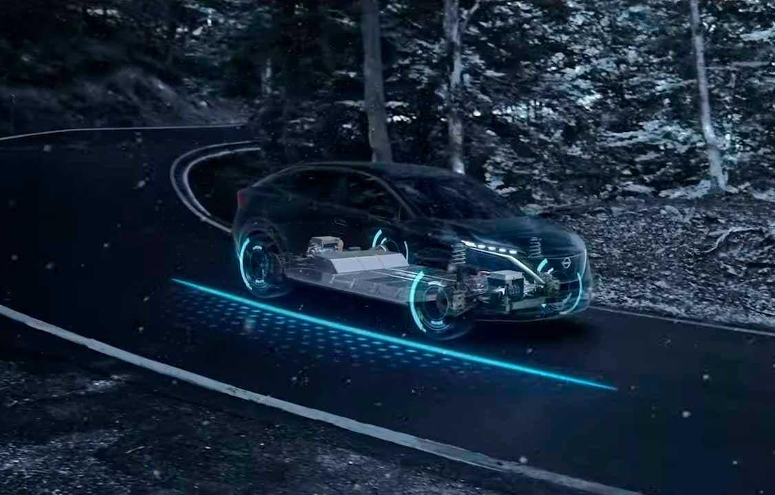 Nissan Presenta Innovadora Tecnología Nissan e-4ORCE