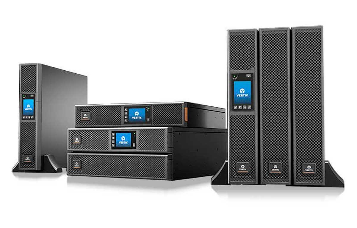 Vertiv lanza Liebert GXT5 una nueva Línea de UPS de Montaje en Rack