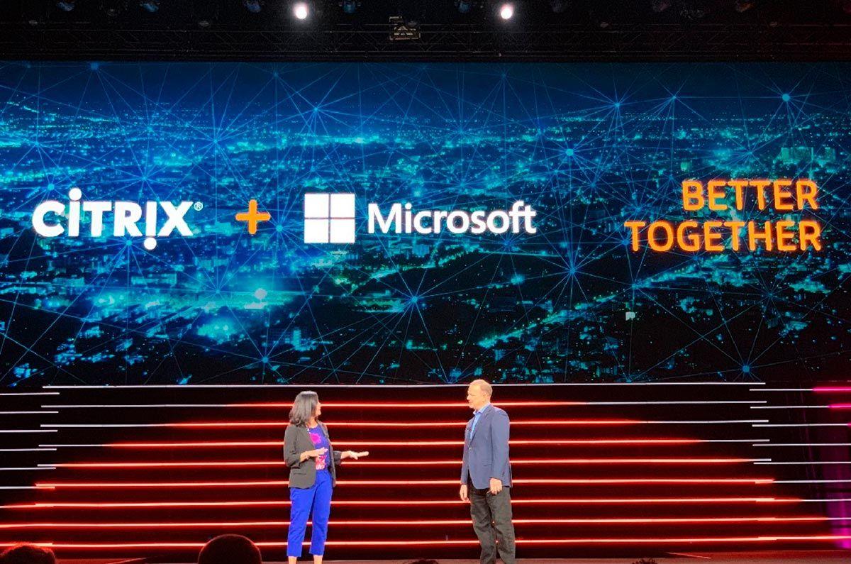 Citrix y Microsoft se asocian para traer el futuro del trabajo